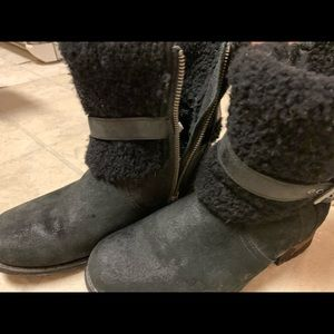Blayre Ugg Boots Size 8 no box Black, great shape
